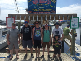 6-14-17 1/2 Day Spanish Fishing