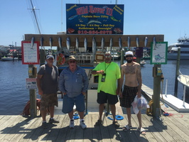 7-22-17 1/2 Spanish Mackerel Fishing