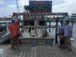 7-24-17 1/2 Day Spanish Mackerel Fishing