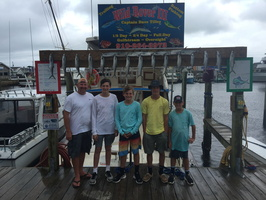 8-8-17 1/2 Day Spanish Mackerel Fishing