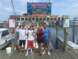8-20-17 1/2 Day Spanish Mackerel Fishing