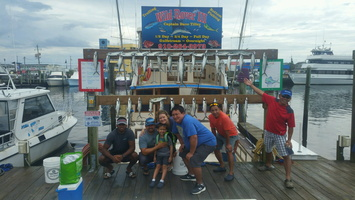 8-21-17 1/2 Day Spanish Mackerel Fishing